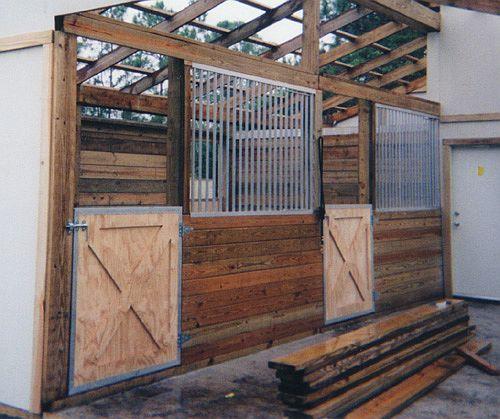 Doors & gates for barn horse stalls