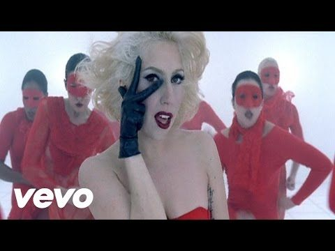 """Lady Gaga on Vevo, """"Bad Romance"""" I can't wait for the days of your song's vide popping up on your screen while you blast tunes from your iPad.  Only when your car is stopped, of course......"""