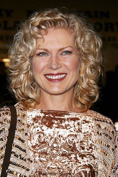 Diana Scarwid in Very Curly Medium Hairstyle with Thick and Rich Texture - Beautiful Hairstyles