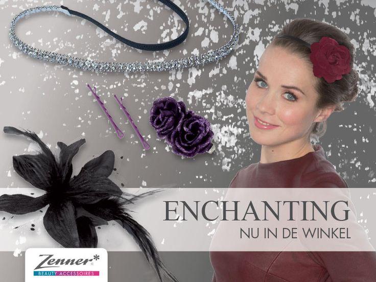 Nieuw van Zenner! De mysterieuze en sprookjesachtige collectie Enchanting! Met de perfecte accessoires voor de feestdagen!