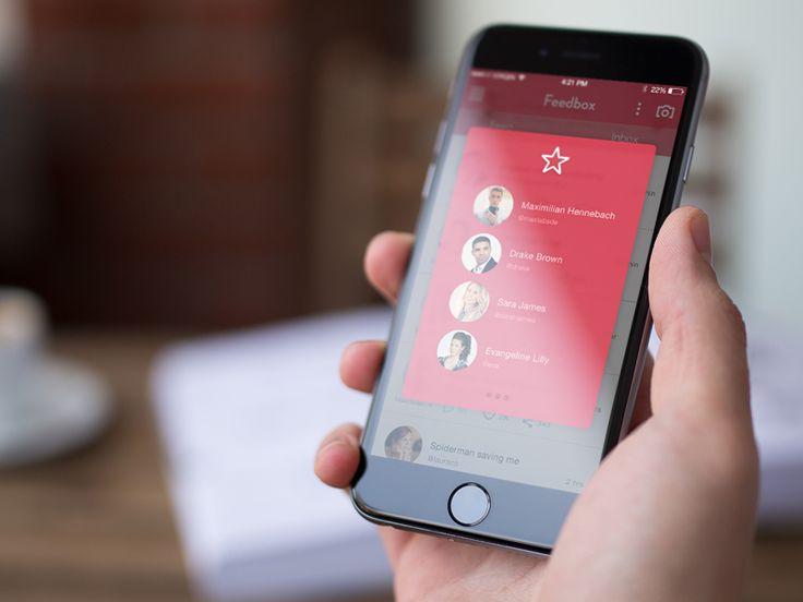 iPhone App Popup