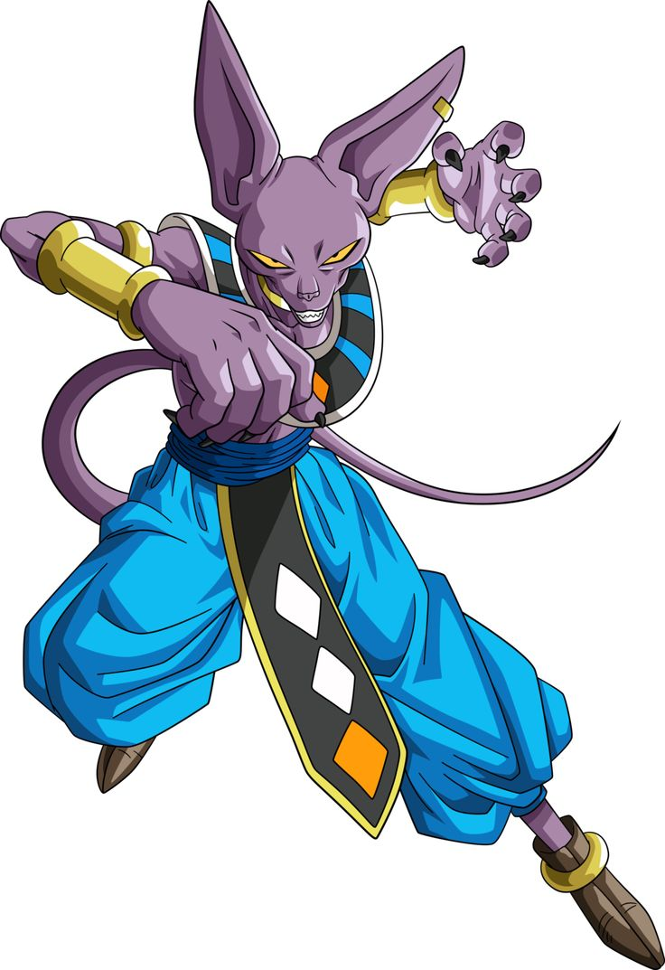 God of destruction beerus 3 by rayzorblade189 on deviantart dragon ball dragon ball - Dragon ball z image ...