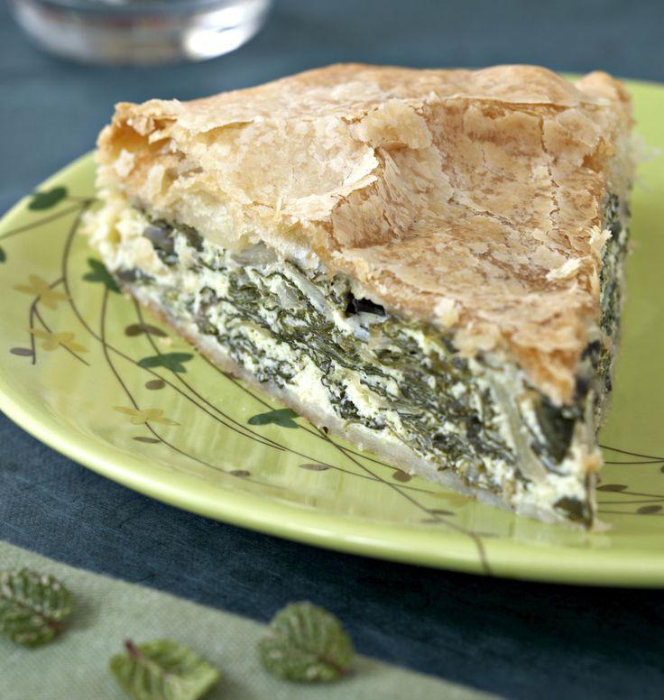 Tourte aux blettes et à la ricotta - Recettes de cuisine de Corse