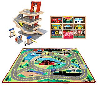 Melissa & Doug Let's Play Vehicles Bundle
