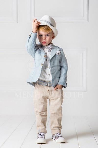 Βαπτιστικά ρούχα για αγόρι της Cat in the hat σετ Eric