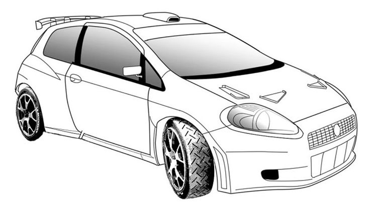Sports Car Coloring Pages For Teens