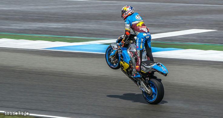 Miller at Dutch TT Assen 2016 MotoGP (Victory Wheely)