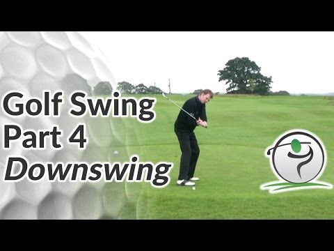 Golf Downswing - How to Bring the Club Down Along the Right Club Path - YouTube