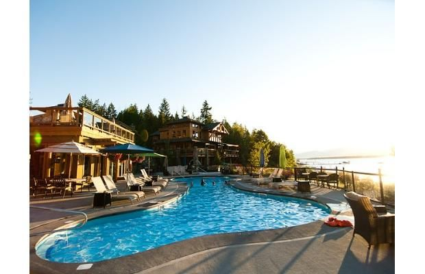 Shuswap Lake resort
