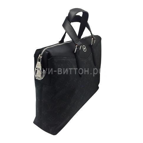 Черная сумка LOUIS VUITTON MONOGRAM ECLIPSE EXPLORER