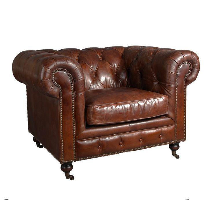 chesterfield clubsessel lederfarbe vintage cigar gro z gig bemessener klassischer sessel aus. Black Bedroom Furniture Sets. Home Design Ideas