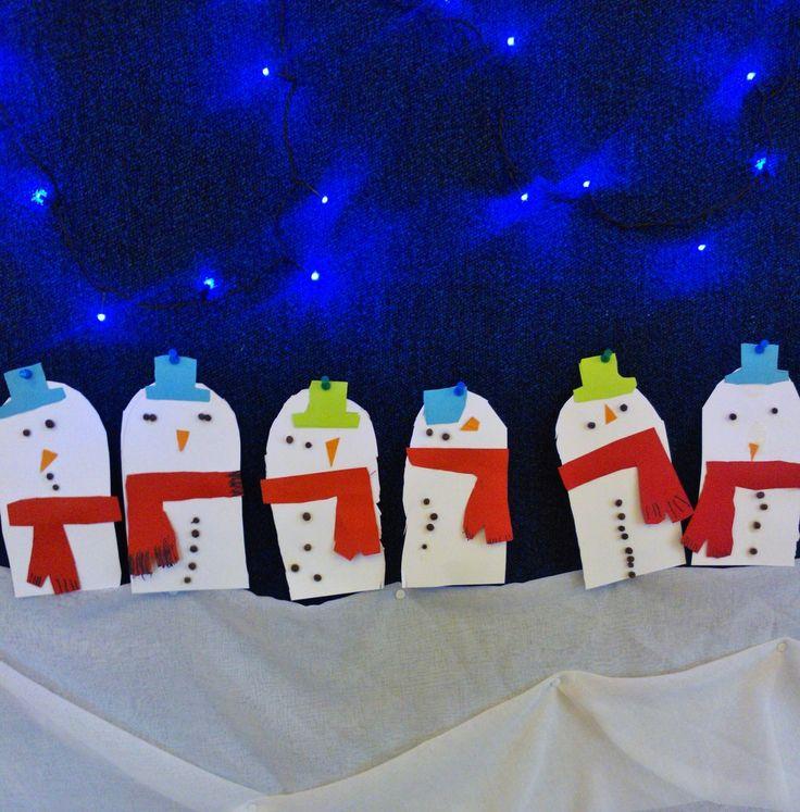 Lumiukkoja :) Napit pippureista