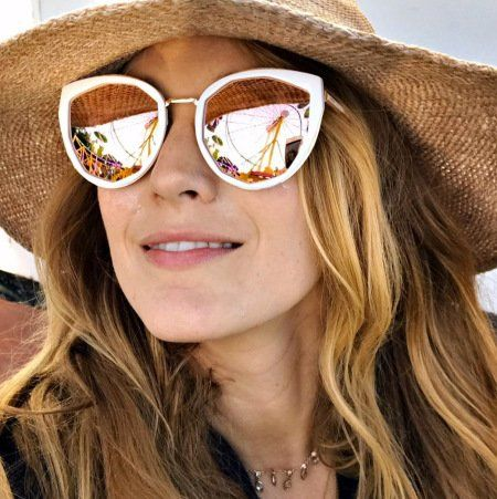 Blake Lively Sunglasses | Blake lively, Sunglasses, Cute ...