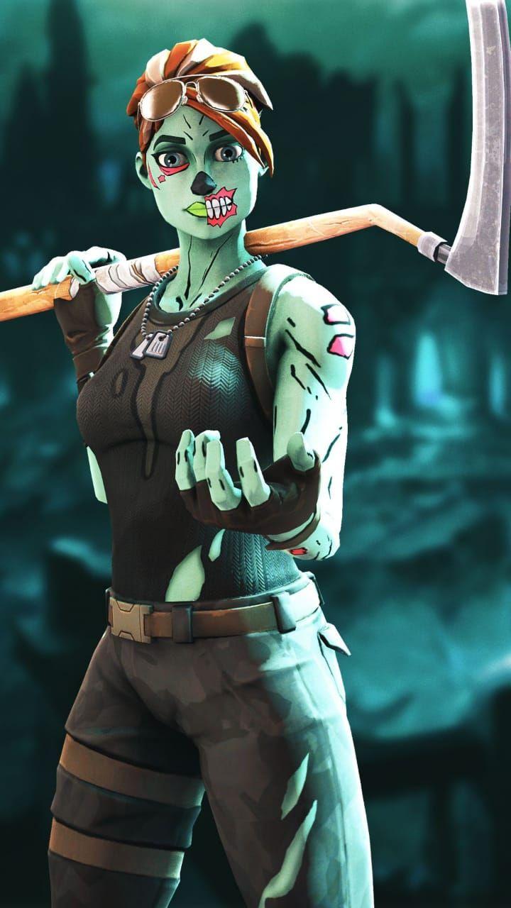 Fondos De Pantalla De Fortnite Chica Zombie