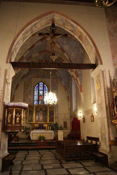 Kościoły w Polsce: KOŚCIÓŁ ŚW. MAŁGORZATY W DEBNIE