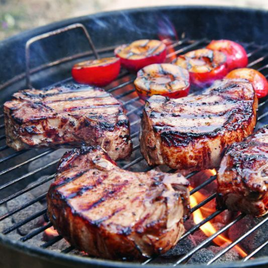 Master the technique for how to grill pork chops. Here, grilling expert Fred Thompson offers his top 3 rules for grilling pork chops along with a recipe.