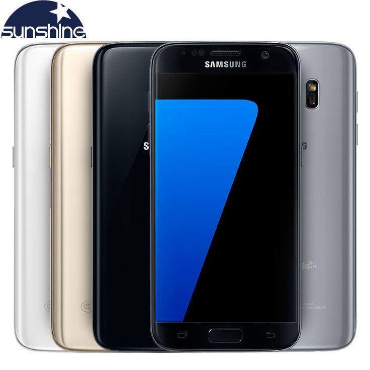 Best price US $266.87  Original Samsung Galaxy S7 LTE 4G Mobile phone Quad Core 5.1'' 12.0MP NFC WIFI 4G RAM 32G ROM  Smartphone  #Original #Samsung #Galaxy #Mobile #phone #Quad #Core #WIFI #Smartphone