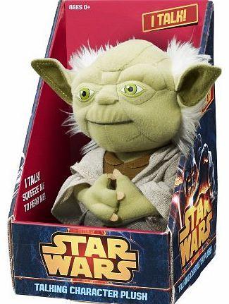 Gear 4 Games Star Wars 9`` Talking Yoda plush in gift box