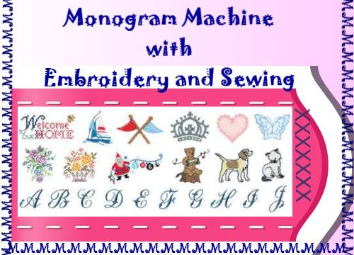 Monogram Machine | Monogramming Machines | Embroidery Machine Reviews | Monogram Machines
