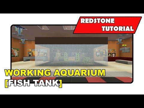 "Fish Tank [Moving Fish Tank Showcase] ""Tutorial"" (Minecraft Xbox 360/One/Ps3/Ps4…"