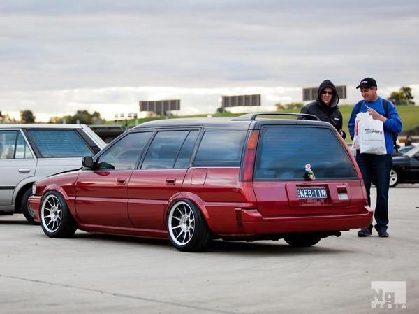 Toyota Corolla Wagon Sprinter Carib Ae90 Lowered