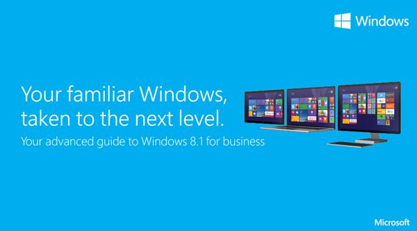 Microsoft has released and made available for download an advanced Windows 8.1 Power User Guide for Business. If you are familiar with the basic features of Windows 8.1, and want to learn more, this guide is definitely for you. While the guide has been positioned 'for business', any Windows enthusiast who wants to learn more about Windows 8.1 features and tips to use the new operating system more efficiently and effectively, will find it useful too..