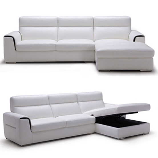 white sectional sofa Modern black and white sectional sofa