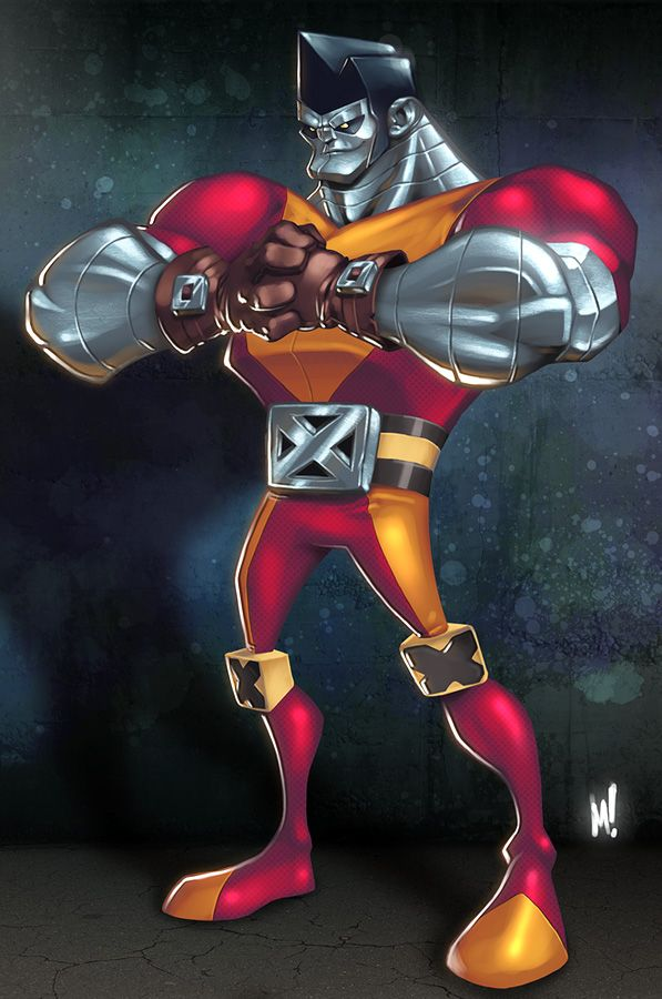 Colossus the Strong by Mike Henry at Zatransis.deviantart.com on @deviantART