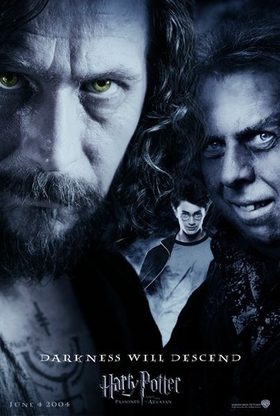 Sirius, Harry And Wormtail....Harry Potter And The Prisoner Of Azkaban
