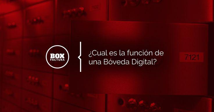 Bóveda digital: recibe guarda y archiva todas tus facturas digitales