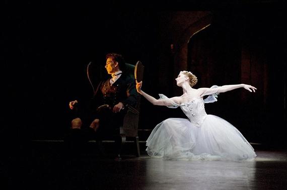 Ulrik Birkkjaer and Susanne Grinder in La Sylphide  © Henrik Stenberg  The Royal Danish Ballet in New York