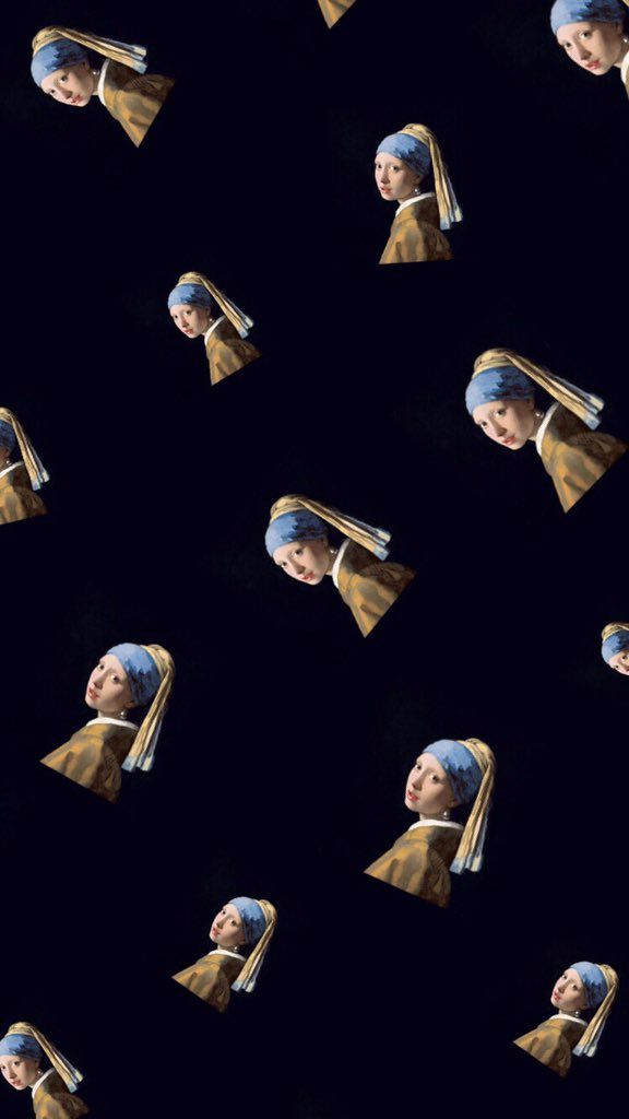 The Girl With A Pearl Earring Wallpaper Creative Photos Art Pearls