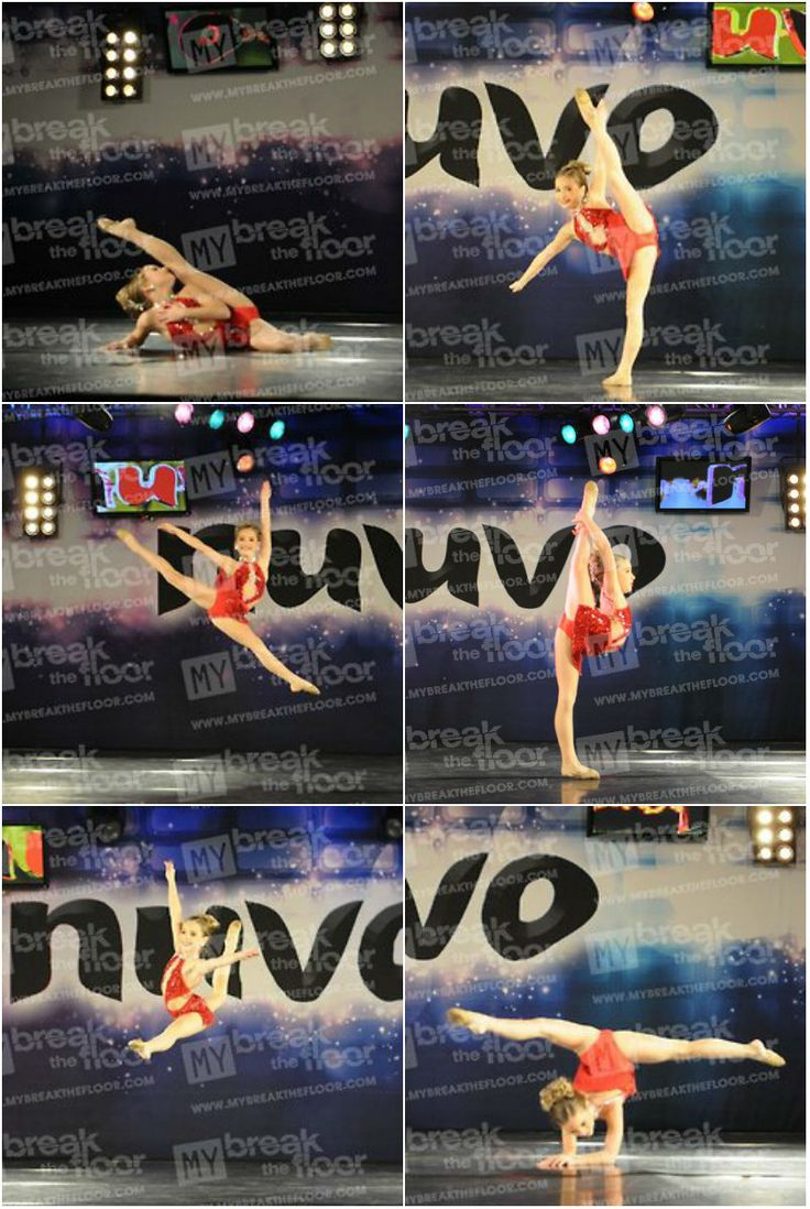 Day three-Mackenzie Ziegler favorite solo=Red