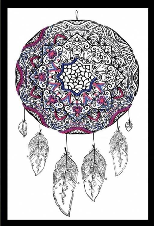 Dreamcatcher - Zenbroidery Fabric Pack £10.60 | Past Impressions | Design Works