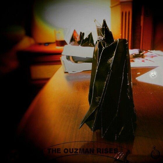 Origami batman (ouzman 's power)  by 'delice'