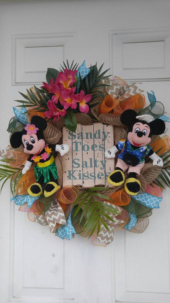 Check out this item in my Etsy shop https://www.etsy.com/listing/272476312/mickey-mouse-mesh-wreath-disney-wreath