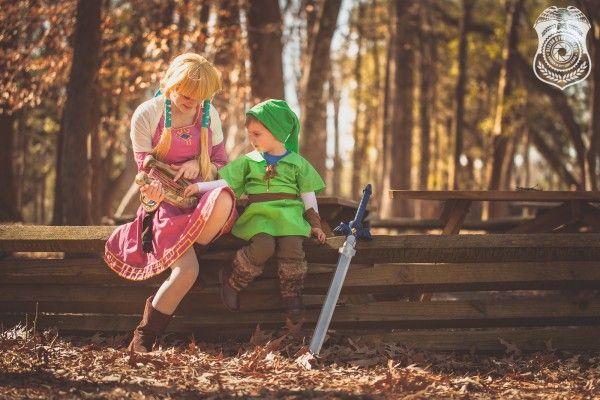 Cosplay de fofura Link e a princesa Zelda | Nerd Da Hora
