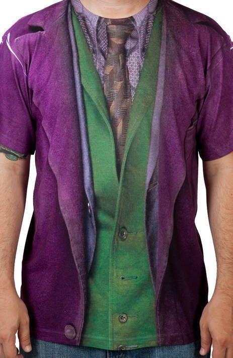Dark Knight Joker Costume Shirt