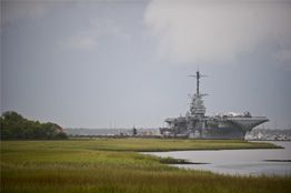 Patriots Point, home of the USS Yorktown is just across the bridge from Charleston. We learned so much history there.