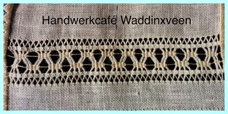 Handwerkcafé Waddinxveen: open naaiwerk