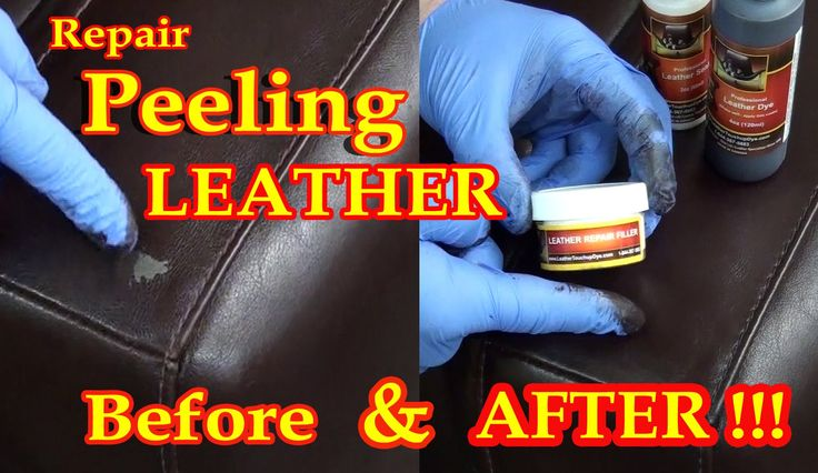 Repair Peeling Leather With Our Leather Dye Repair Kit