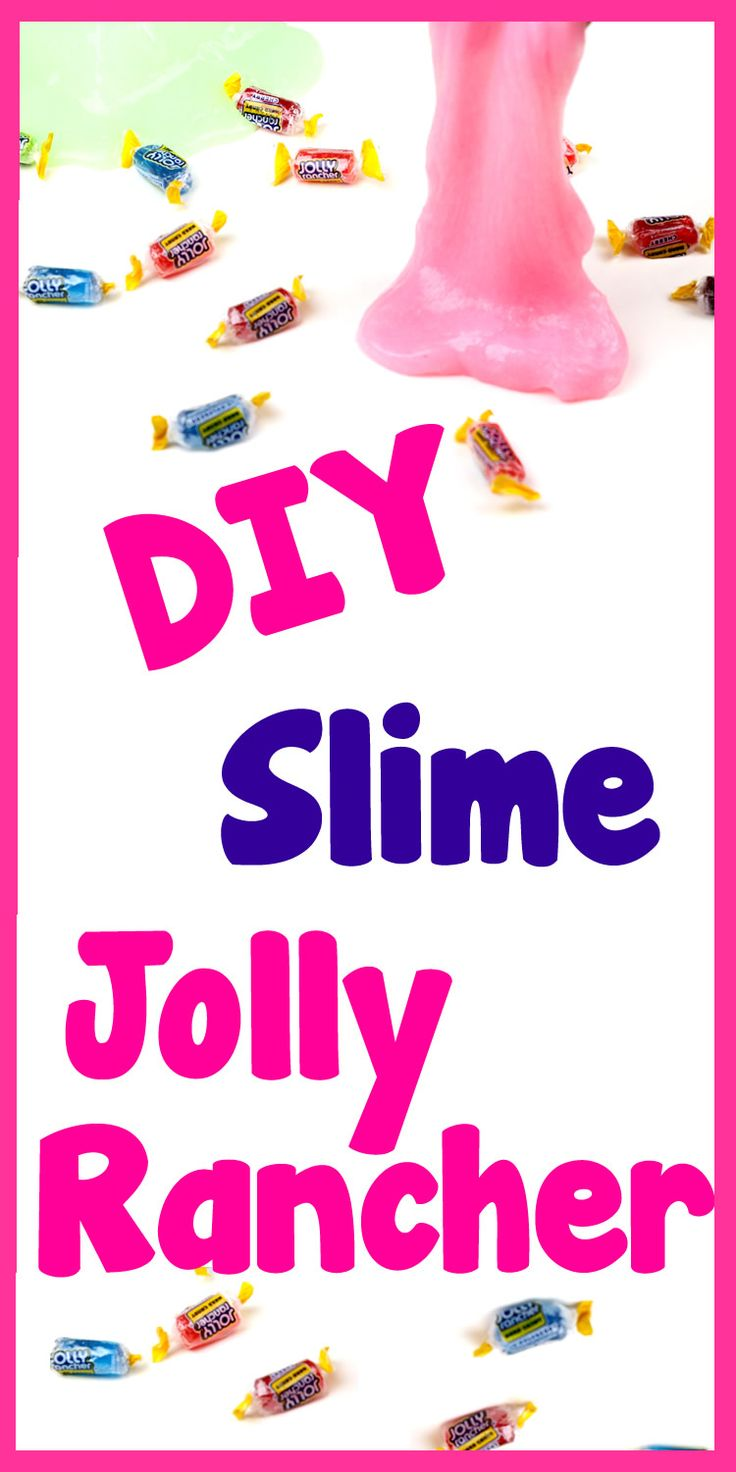 DIY Crafts: How To Make Jolly Rancher Slime - DIY Slime with 3 Ingredients!  Learn how to turn a basic DIY slime recipe into a fun slime that smells exactly like a Jolly Rancher.  In this easy DIY craft video tutorial learn how to make an easy DIY slime recipe with glue, liquid starch, Jolly Rancher Jello and washable paint (optional) - this diy slime uses no borax!  I hope you have fun with this DIY candy slime craft idea.  What is your favorite slime recipe?