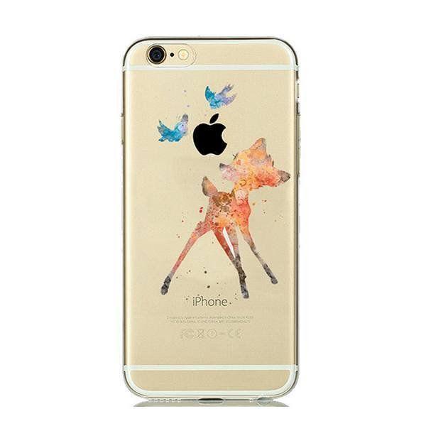 Aquarelle Bambi