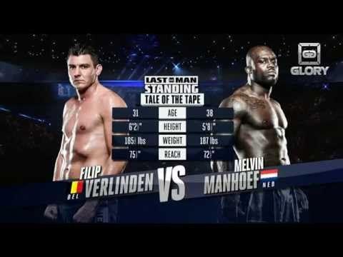 GLORY Last Man Standing: Filip Verlinden vs. Melvin Manhoef (Full Video)
