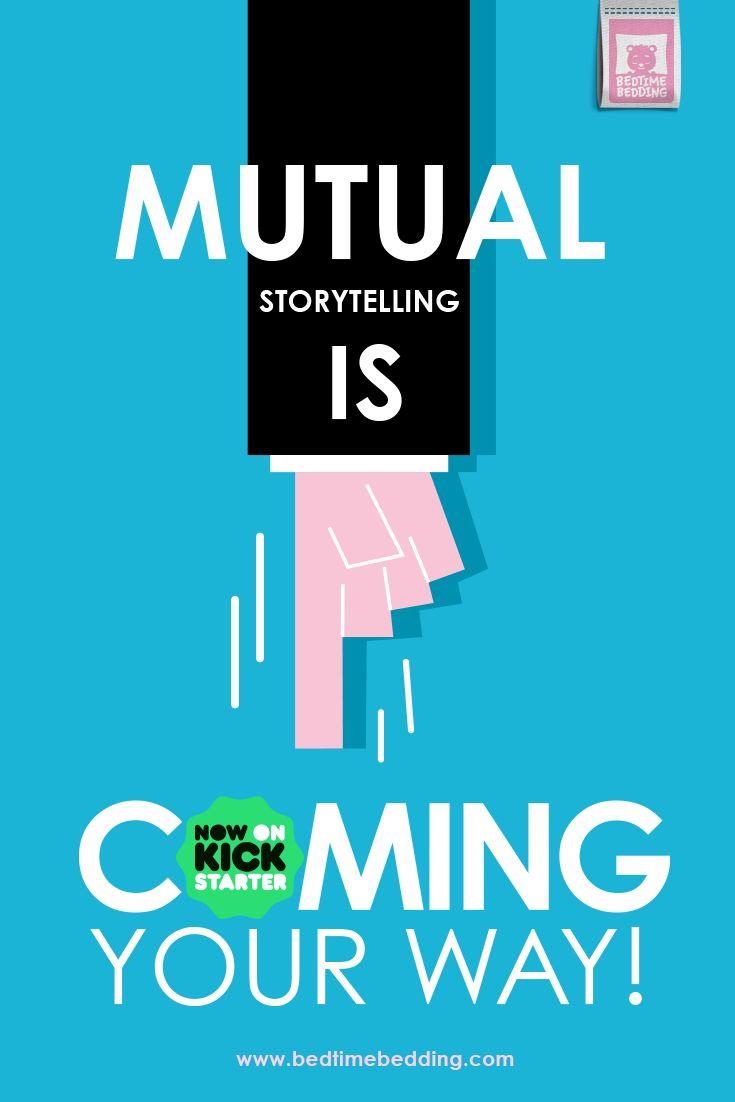 Mutual storytelling. www.bedtimebedding.com
