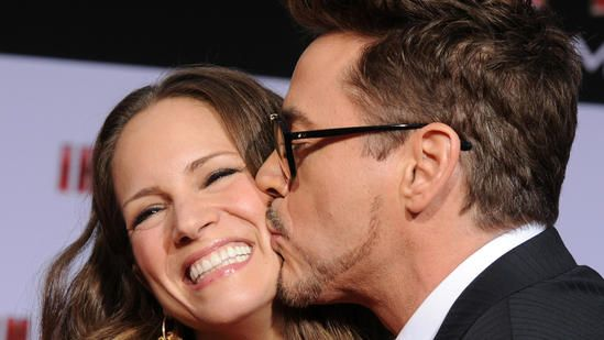Hollywood Baby Boom | Robert Downey Jr. and Susan Downey Kevin Winter / Getty Images Hollywood Baby Boom | Robert Downey Jr. and Susan Downey Kevin Winter / Getty Images Robert Downey Jr. and wife Susan Downey are expecting a baby girl. This is the third child for Downey Jr., who has a son named Exton Elias with Susan, and another son named Indio Falconer from a 14-year marriage to Deborah Falconer that ended in 2004.