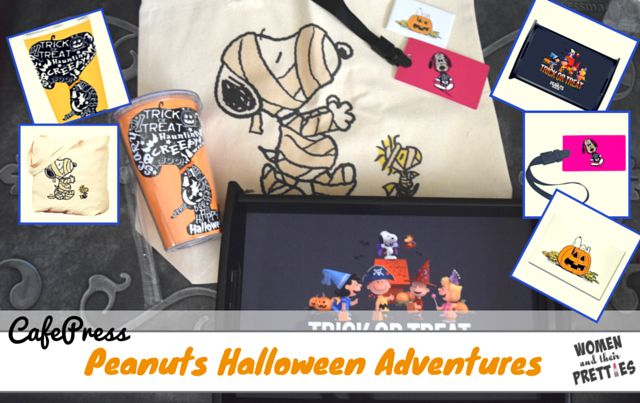Cafepress has a ton classic Peanuts merchandise, as well as Peanuts Movie gifts. They have everything from Peanuts mugs and home goods to apparel and accessories. They even have holiday-themed products, like this Peanuts Halloween merch. Here are a few of the Halloween items that I knew would be a great hit with all of you! Be sure to visit the Spooktacular Giveaway Adventure to win this Peanuts Halloween prize pack!