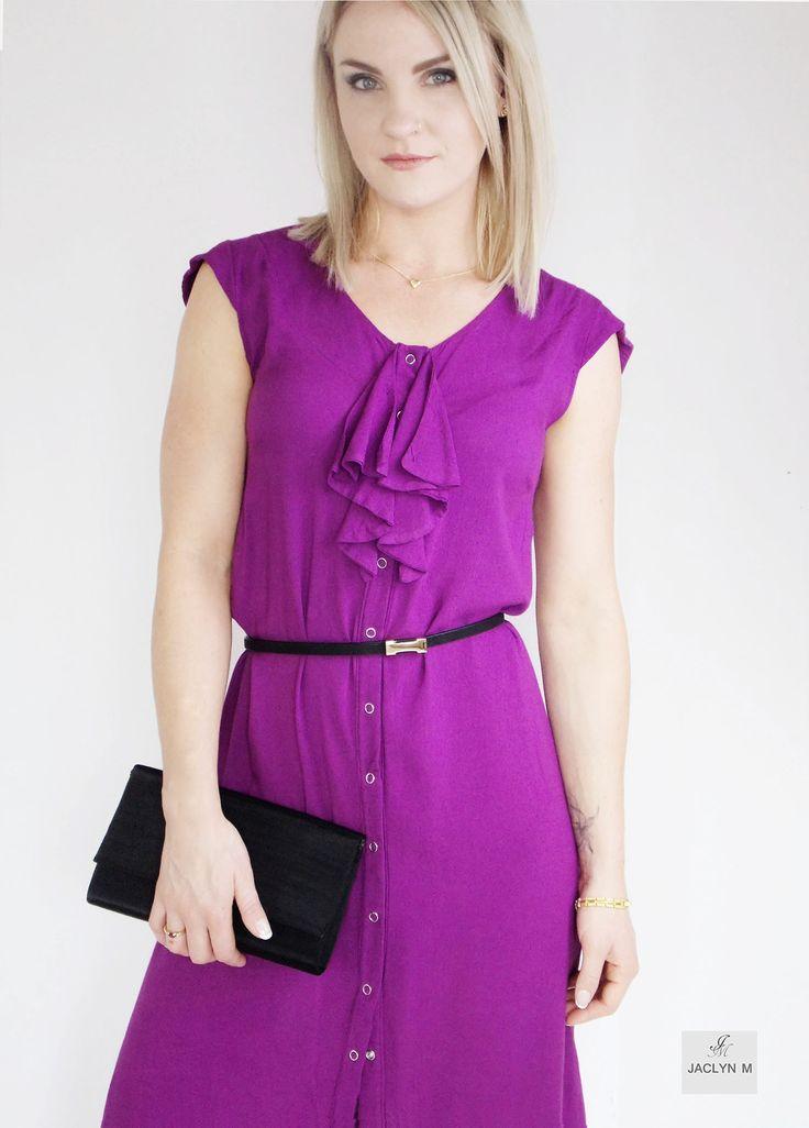 Shyla ruffle dress