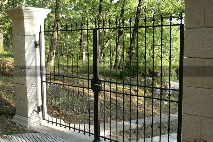 17 meilleures id es propos de portes en fer forg sur for Porte exterieur sur mesure