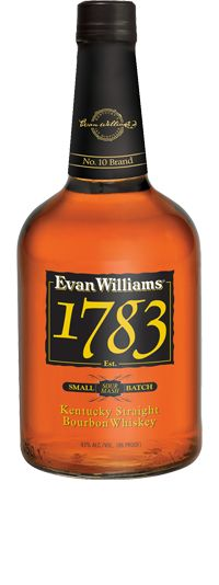Evan Williams 1783 is a small batch extra aged line extension of Evan Williams Black Label that is named after the year in which Evan Williams first established his distillery.